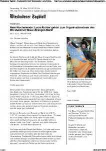 Wiesbadener Tagblatt - Druckansicht_ Mein Wochenende_ Lucie Richter gehört zum Organisationsteam des Wiesbadener Blaue-Orangen-Markt_Seite_1